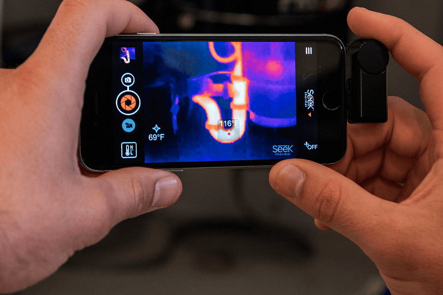 Seek Compact Thermal Imager for iOS & Android