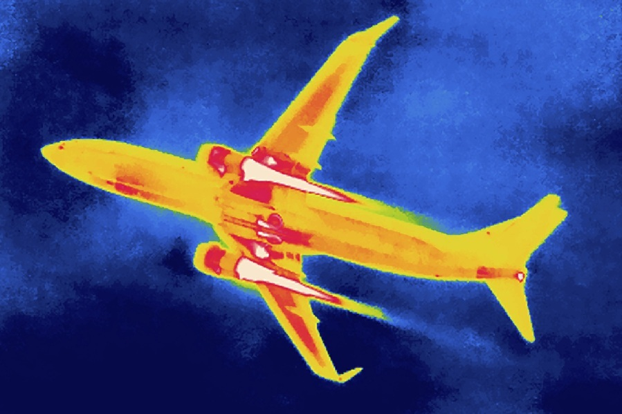 Airplane Thermal Image