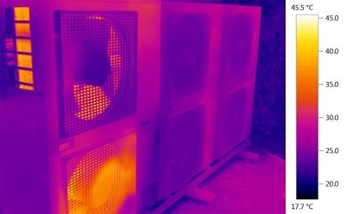 Temperature Range of Thermal Image Camera