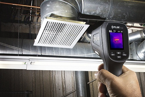 FLIR TG165 Limitations