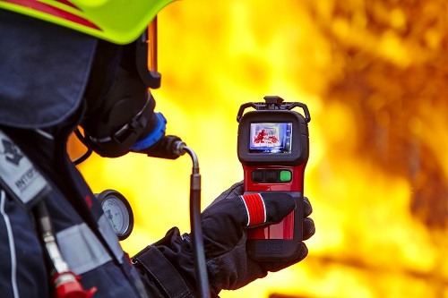 First Responders Using Thermal Camera