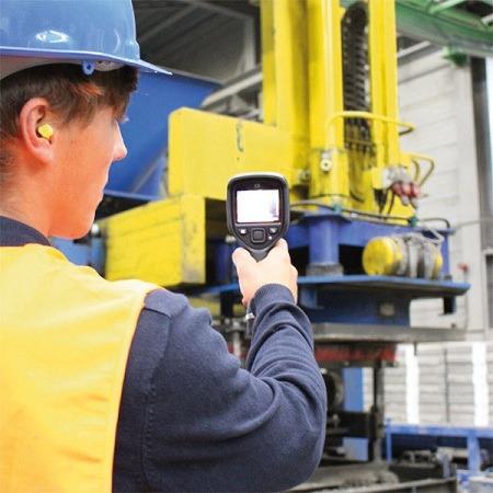 Detecting Temperature with Flir Ex Series