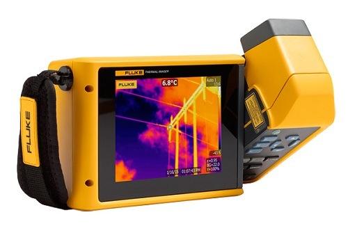 Handheld Fluke Tix500 Thermal Imaging Camera