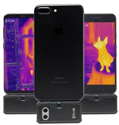 Flir one pro imaging camera