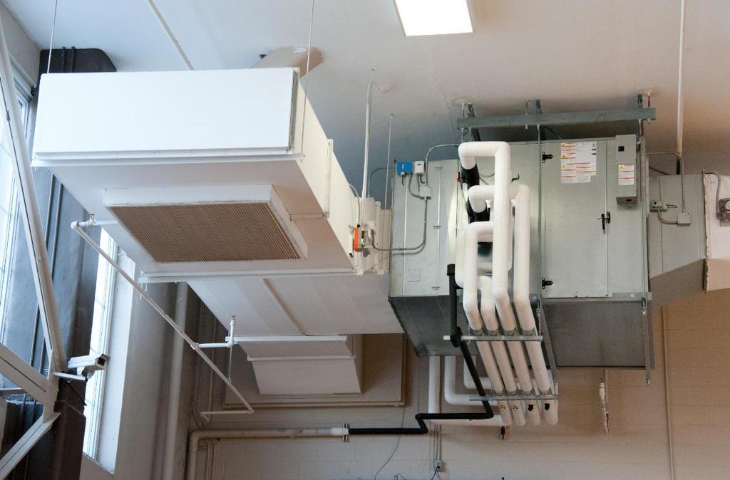 An HVAC system