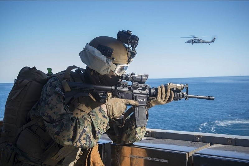 Night vision system for US Marine