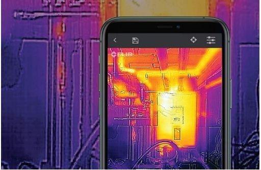 heat sensing app