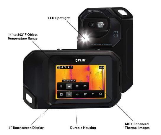 thermal imaging moisture detection