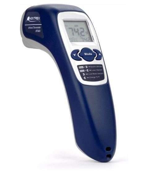 infrared thermometer with laser targeting