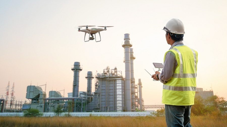 drones thermal imaging