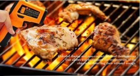 infrared grill thermometer