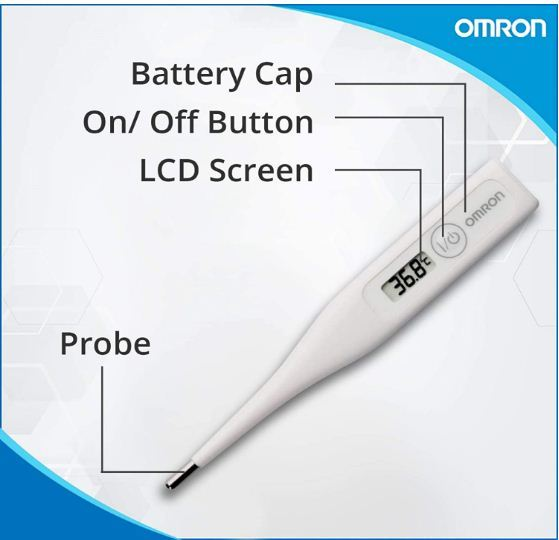omron digital ovulation thermometer