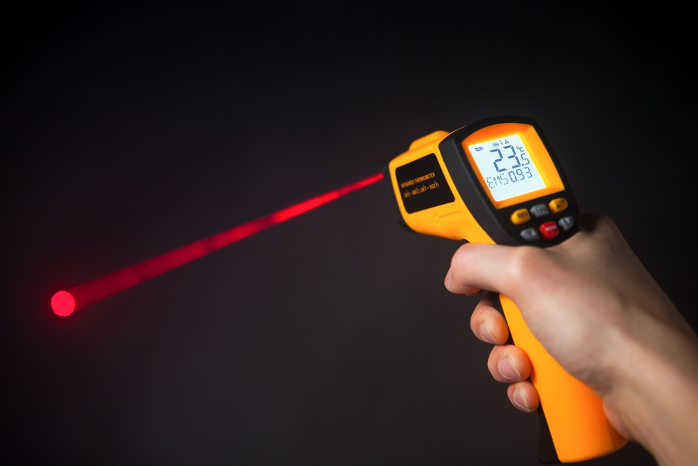 best hvac infrared thermometer