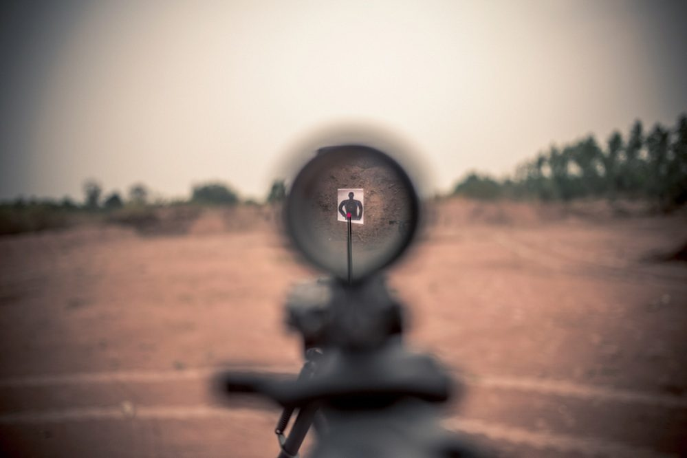 lighted reticle scopes