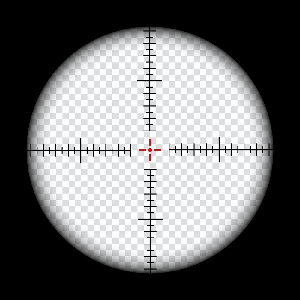 illuminated reticle eyepiece