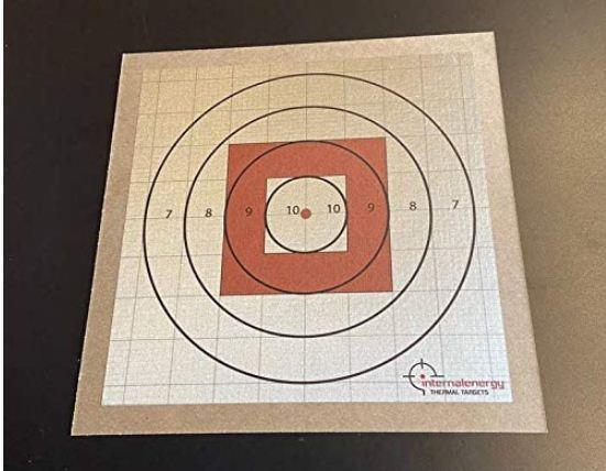rifle sighting target