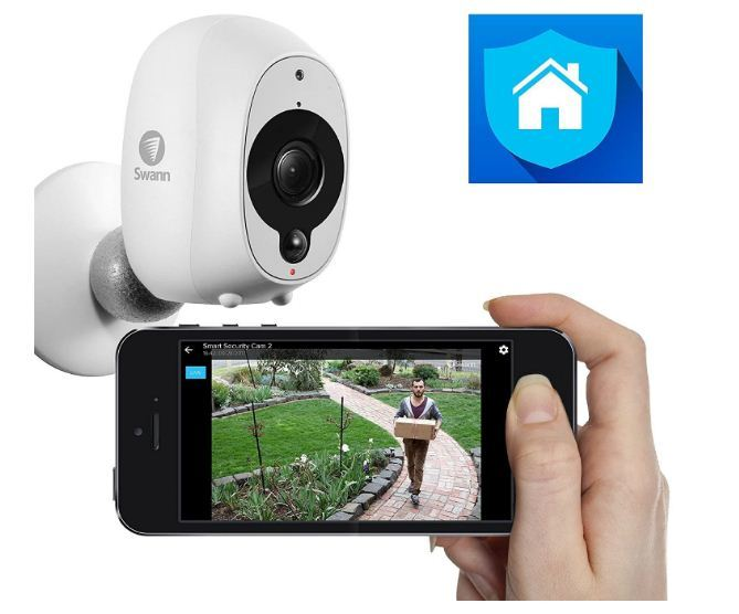 wire free outdoor surveillance camera